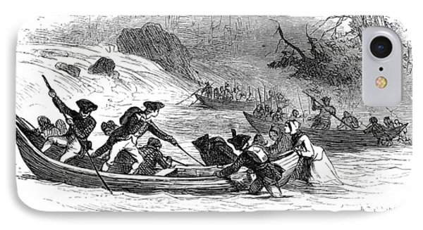 Quebec Expedition, 1775 Phone Case by Granger