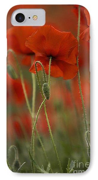 Red IPhone Case by Nailia Schwarz