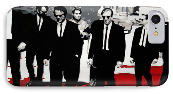 Reservoir Dogs IPhone Case by Luis Ludzska