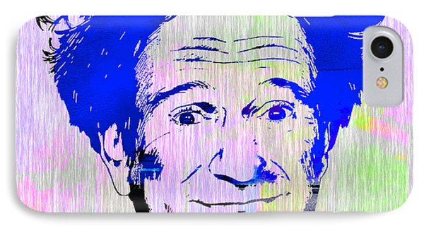Robin Williams Art IPhone Case by Marvin Blaine