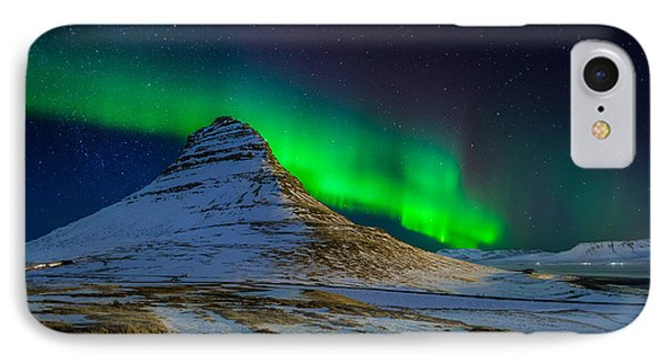 Aurora Borealis Or Northern Lights IPhone Case by Panoramic Images