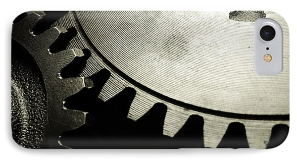 Cogs IPhone Case by Les Cunliffe
