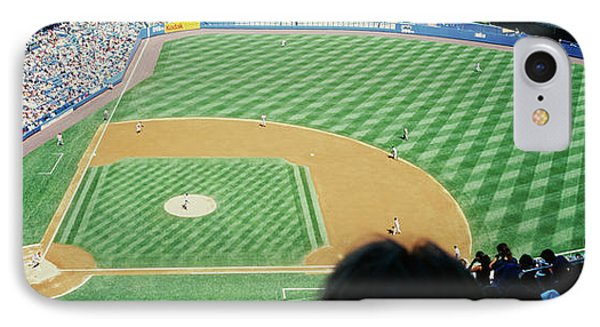 High Angle View Of Spectators Watching IPhone Case by Panoramic Images