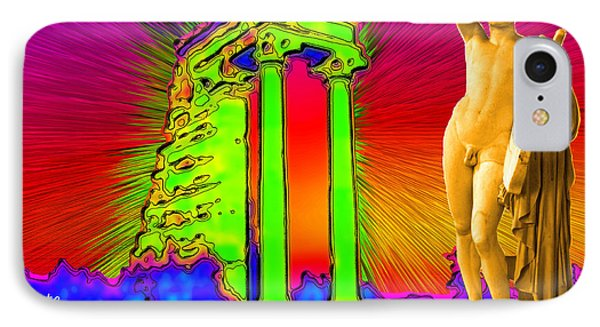 Temple Of Apollo Phone Case by Augusta Stylianou