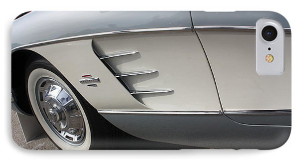 61 Corvette-grey-sidepanel-9241 Phone Case by Gary Gingrich Galleries