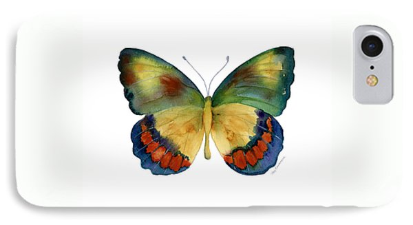 67 Bagoe Butterfly Phone Case by Amy Kirkpatrick