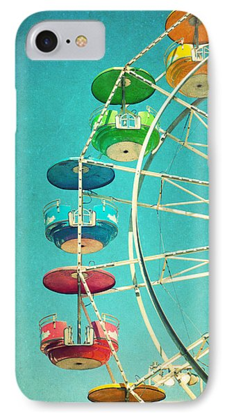 Ferris Wheel IPhone Case by June Marie Sobrito