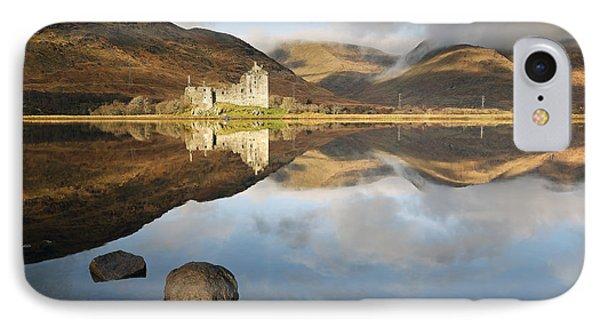 Kilchurn Castle Phone Case by Grant Glendinning