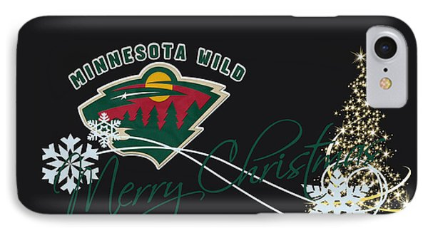 Minnesota Wild IPhone Case by Joe Hamilton