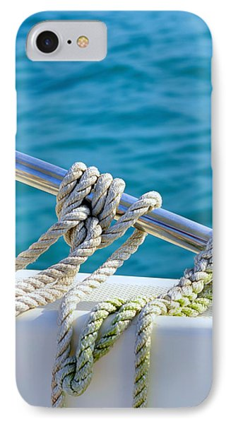 The Ropes IPhone Case by Laura Fasulo