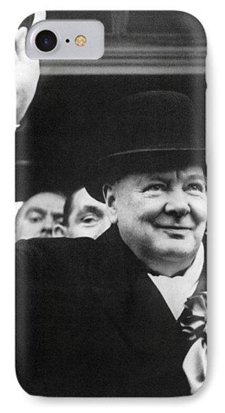 Winston Churchill Phone Case by Granger