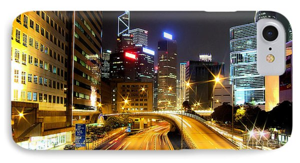 Hong Kong IPhone Case by Baltzgar