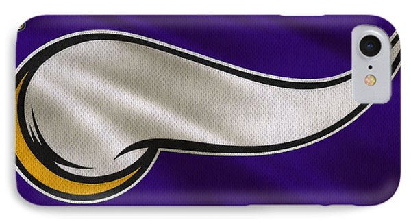Minnesota Vikings Uniform IPhone Case by Joe Hamilton