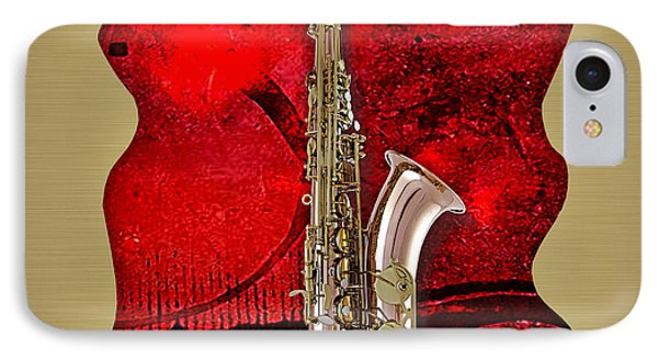 Saxophone Collection. IPhone Case by Marvin Blaine