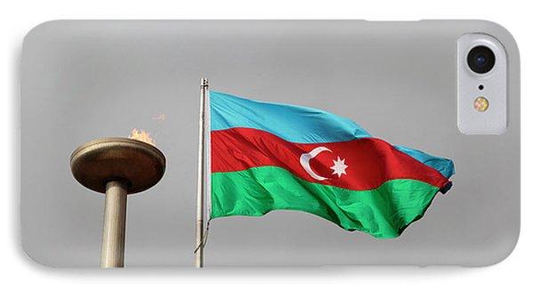 Azerbaijan, Baku IPhone Case by Alida Latham
