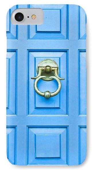 Blue Door IPhone Case by Tom Gowanlock