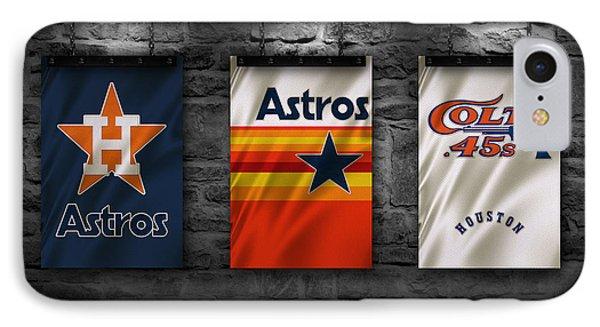 Houston Astros IPhone Case by Joe Hamilton