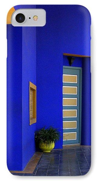Majorelle Garden Marrakesh Morocco Phone Case by Ralph A  Ledergerber-Photography