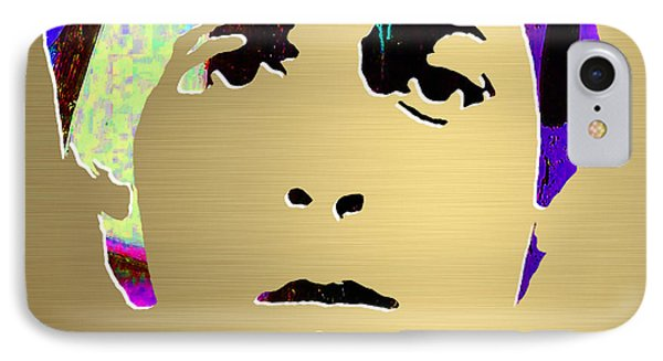 Paul Mccartney Gold Series IPhone Case by Marvin Blaine