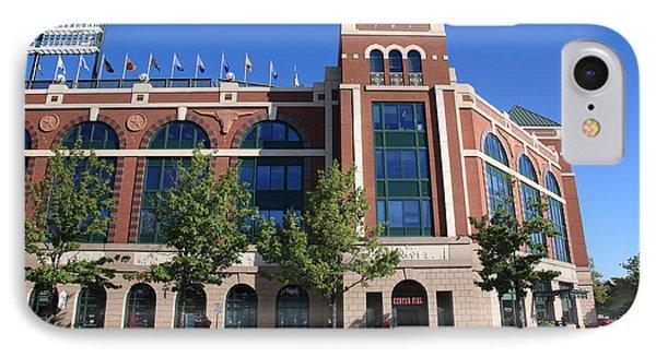 Texas Rangers Ballpark In Arlington Phone Case by Frank Romeo