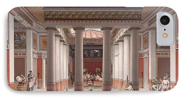 A Banquet In Ancient Greece Phone Case by Nordmann