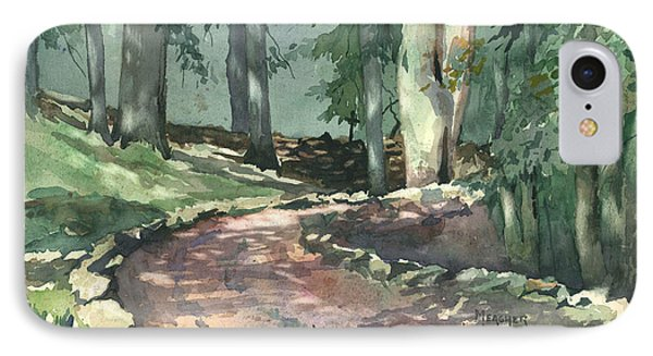 A Bend In The Road IPhone Case by Spencer Meagher