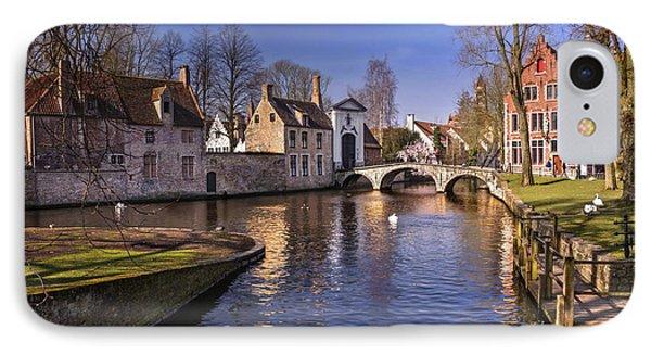 Blue Bruges IPhone Case by Carol Japp