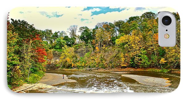 A Cleveland Autumn Phone Case by Frozen in Time Fine Art Photography
