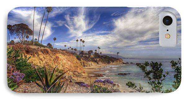 A Day In Laguna Beach IPhone Case by Sean Foster