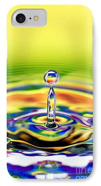 A Drop Of Colour Phone Case by Tim Gainey