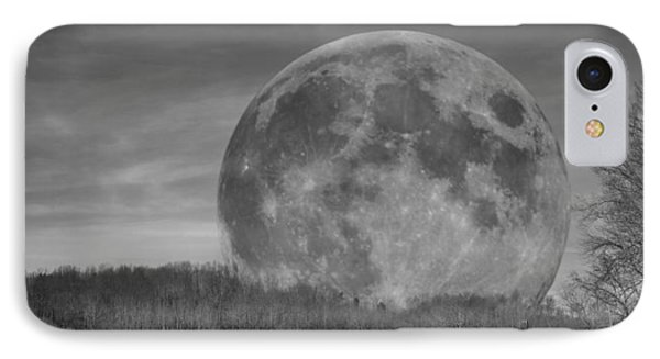 A Friend At Night IPhone Case by Betsy Knapp