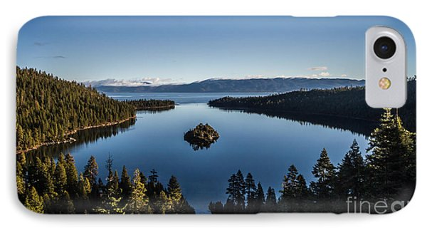 A Generic Photo Of Emerald Bay Phone Case by Mitch Shindelbower