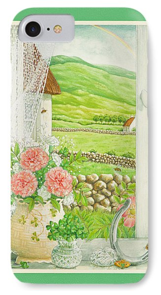 A Lucky View Phone Case by Lynn Bywaters