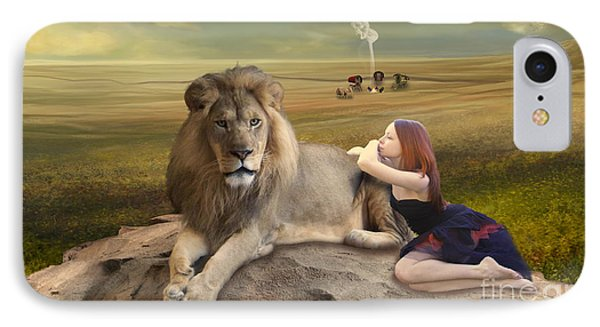 A Magnificent Friendship IPhone Case by Linda Lees