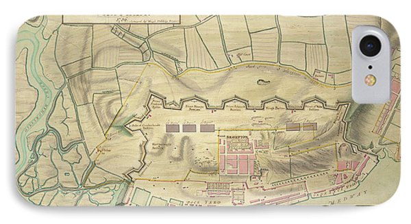 A Plan Of Chatham IPhone Case by British Library