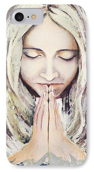 A Prayer... Phone Case by Elisabeta Hermann