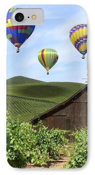 A Ride Through Napa Valley IPhone Case by Mike McGlothlen