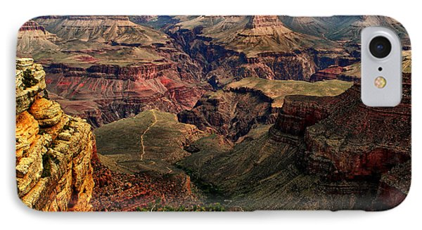 A River Runs Through It-the Grand Canyon IPhone Case by Tom Prendergast