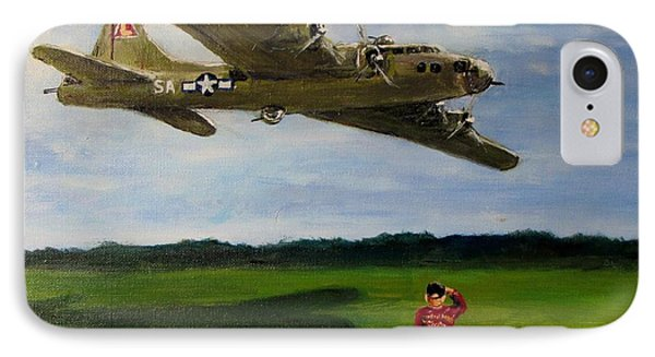 A Salute To The Greatest Generation IPhone Case by Jack Skinner
