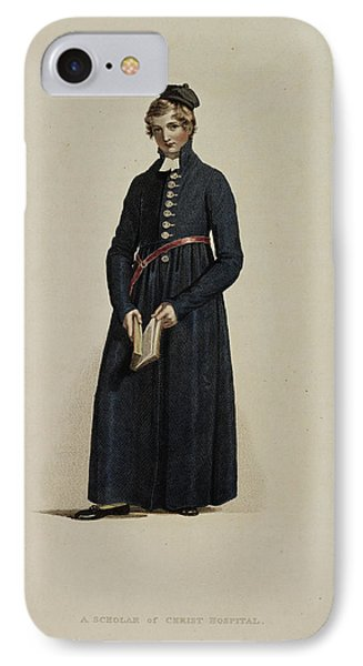 A Scholar Of Christ Hospital IPhone Case by British Library