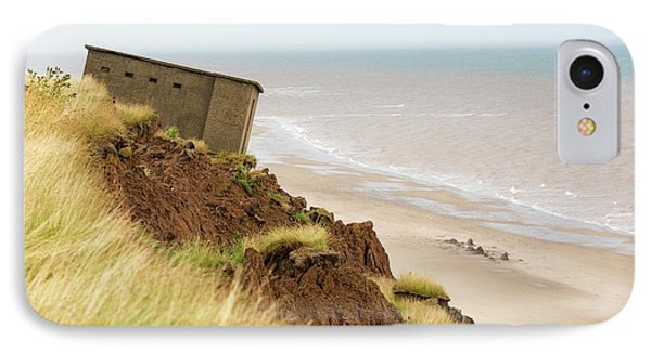 A Second World War Lookout Post IPhone Case by Ashley Cooper