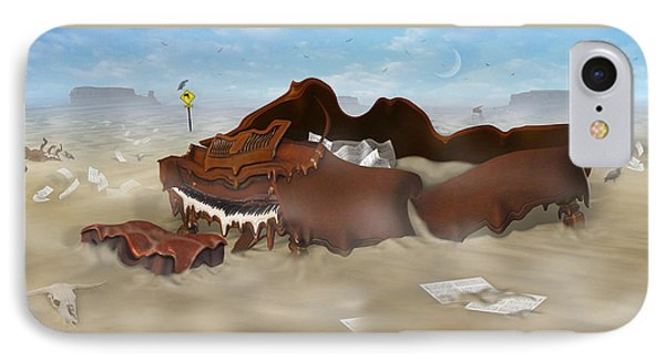 A Slow Death In Piano Valley - Panoramic IPhone 7 Case by Mike McGlothlen