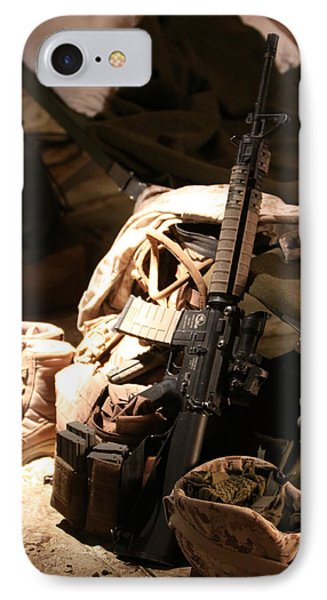 A Soldiers Friends Phone Case by Shoal Hollingsworth