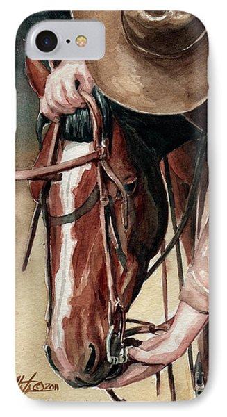 A Useful Horse IPhone Case by Linda L Martin