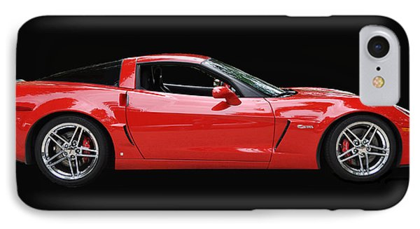 A Very Red Corvette Z6 Phone Case by Allen Beatty