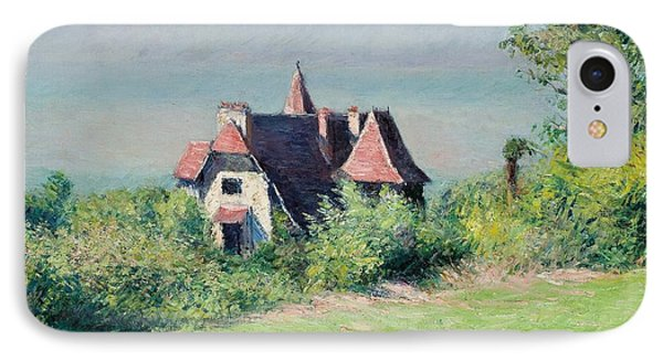 A Villa At Trouville Phone Case by Gustave Caillebotte