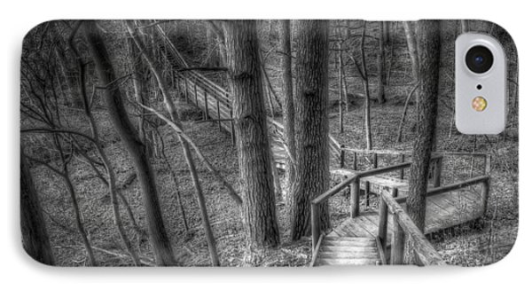 A Walk Through The Woods IPhone Case by Scott Norris
