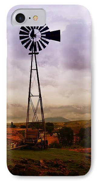 A Windmill And Wagon  Phone Case by Jeff Swan