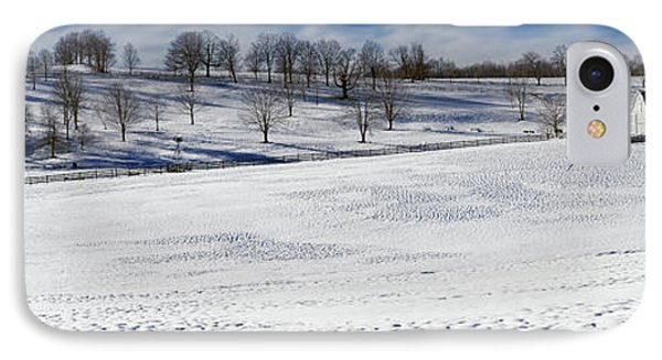 A Winters Day IPhone Case by Bill Wakeley