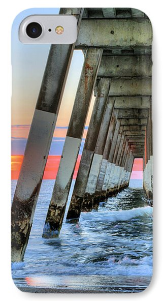 A Wrightsville Beach Morning IPhone Case by JC Findley